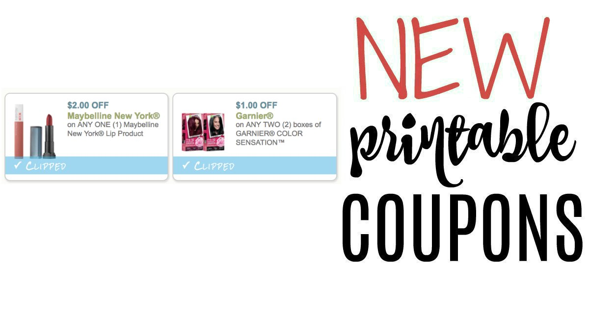 photo regarding Maybelline Printable Coupons referred to as Printable Discount codes Archives - Site 403 of 536 - The Harris