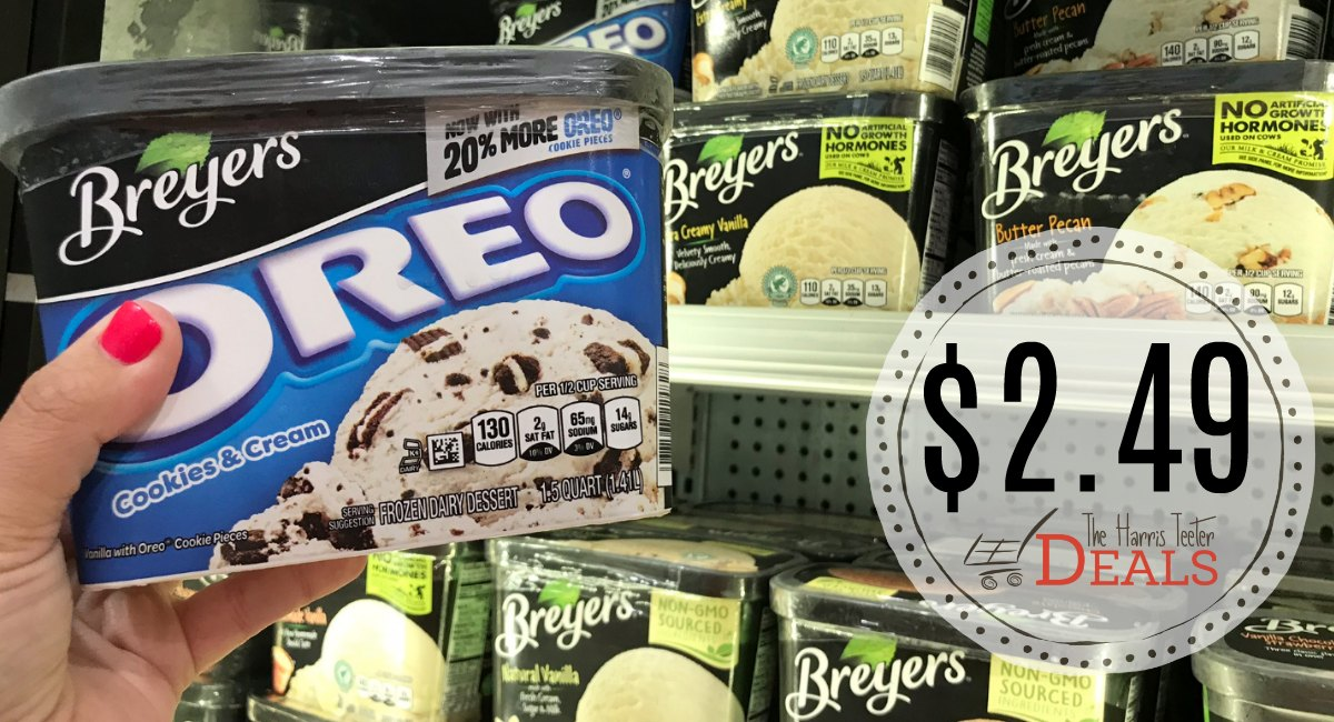 image about Breyers Ice Cream Coupons Printable called Breyers Ice Product get a single order a person Free of charge - The Harris Teeter