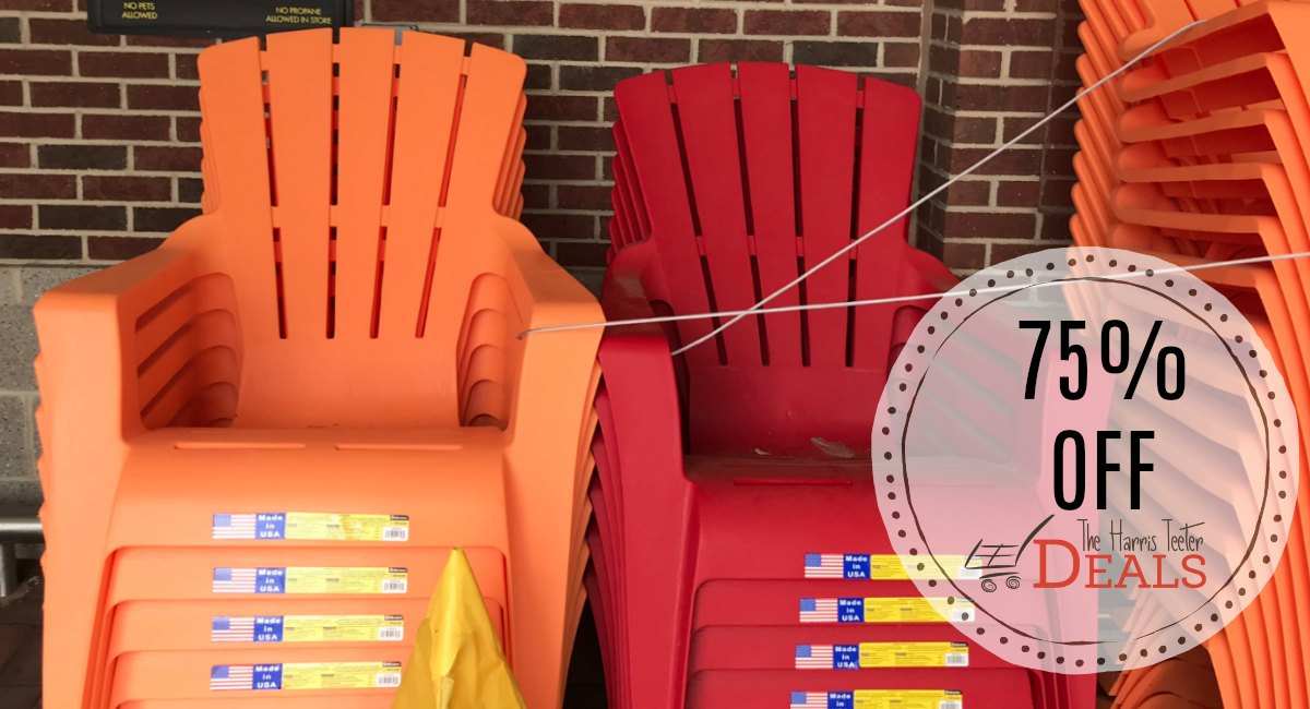 Check Your Store 75 Off Select Patio Items The