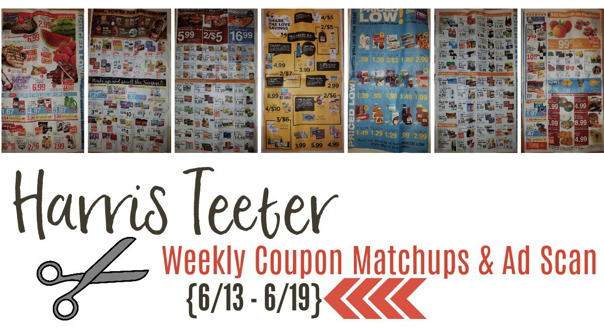 Harris Teeter Deals Weekly Matchups + Ad Scan 6/13 – 6/19