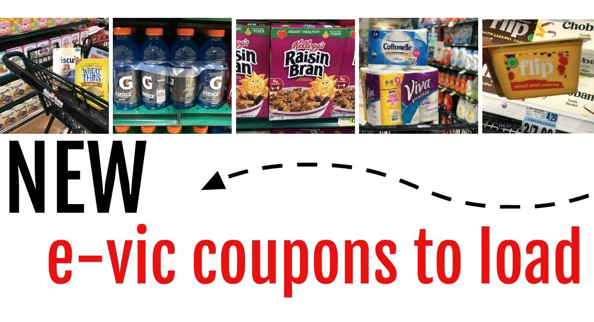6 NEW e-Coupons to Load to your VIC Card!