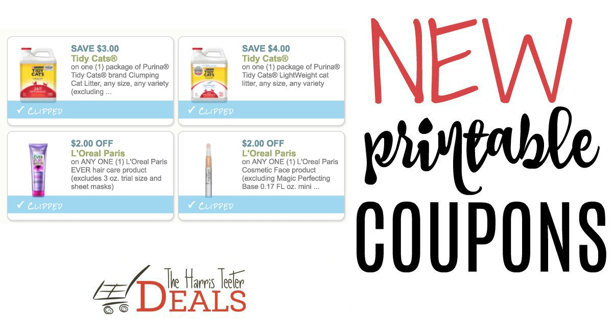 image relating to Tidy Cat Printable Coupons known as Weekly Offers Archives - Web page 586 of 814 - The Harris Teeter