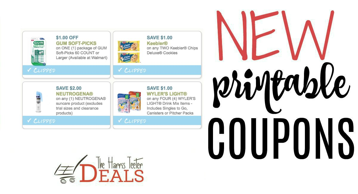 photograph regarding Gum Coupons Printable referred to as Fresh new Printable Coupon codes! - The Harris Teeter Bargains