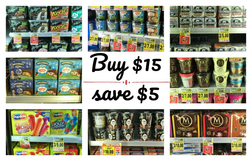 BUY $15 SAVE $5: Ice Cream Promotion! Don't Miss THIS Deal!