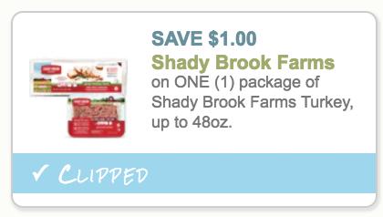 Shady brook farm coupons