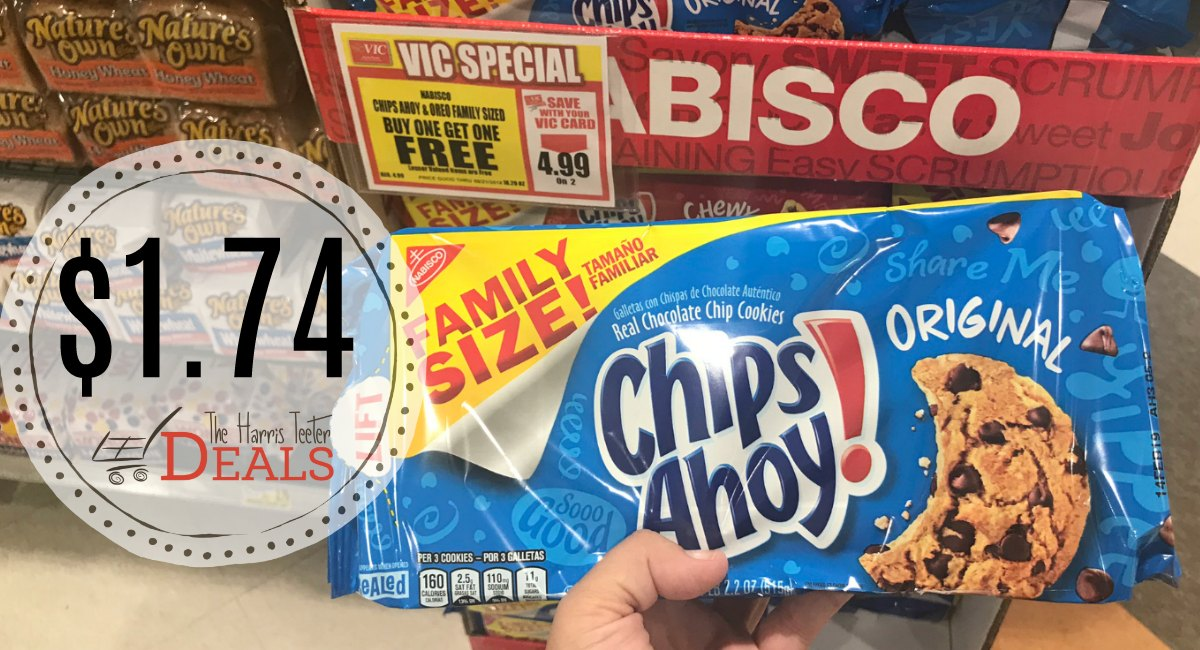 photograph about Chips Ahoy Coupons Printable called Chips Ahoy Family members Sizing Cookies Order a single get hold of just one Cost-free +