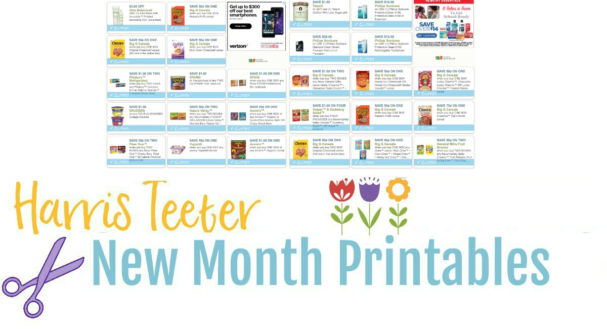NEW Month Printable Coupons {TONS of Food Coupons to Print}