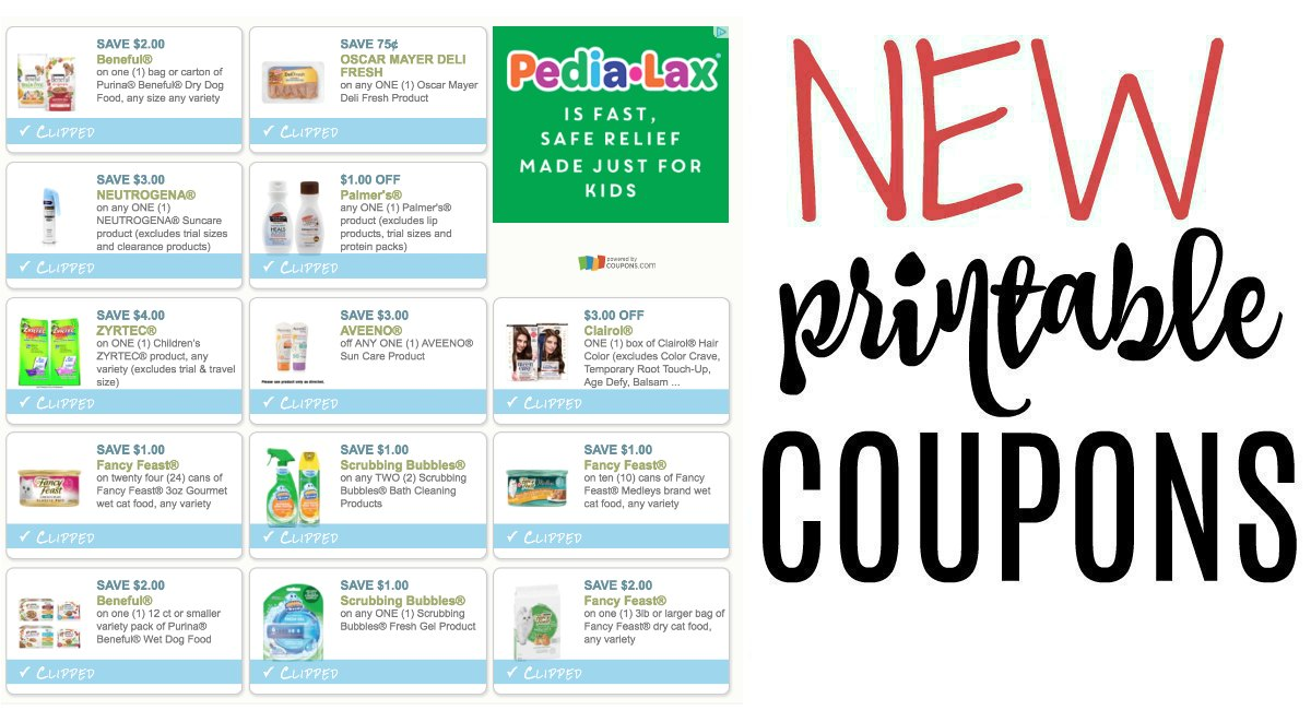 graphic regarding Printable Nicoderm Coupons named Fresh Printable Discount codes Oscar Mayer Deli Clean, Aveeno, and