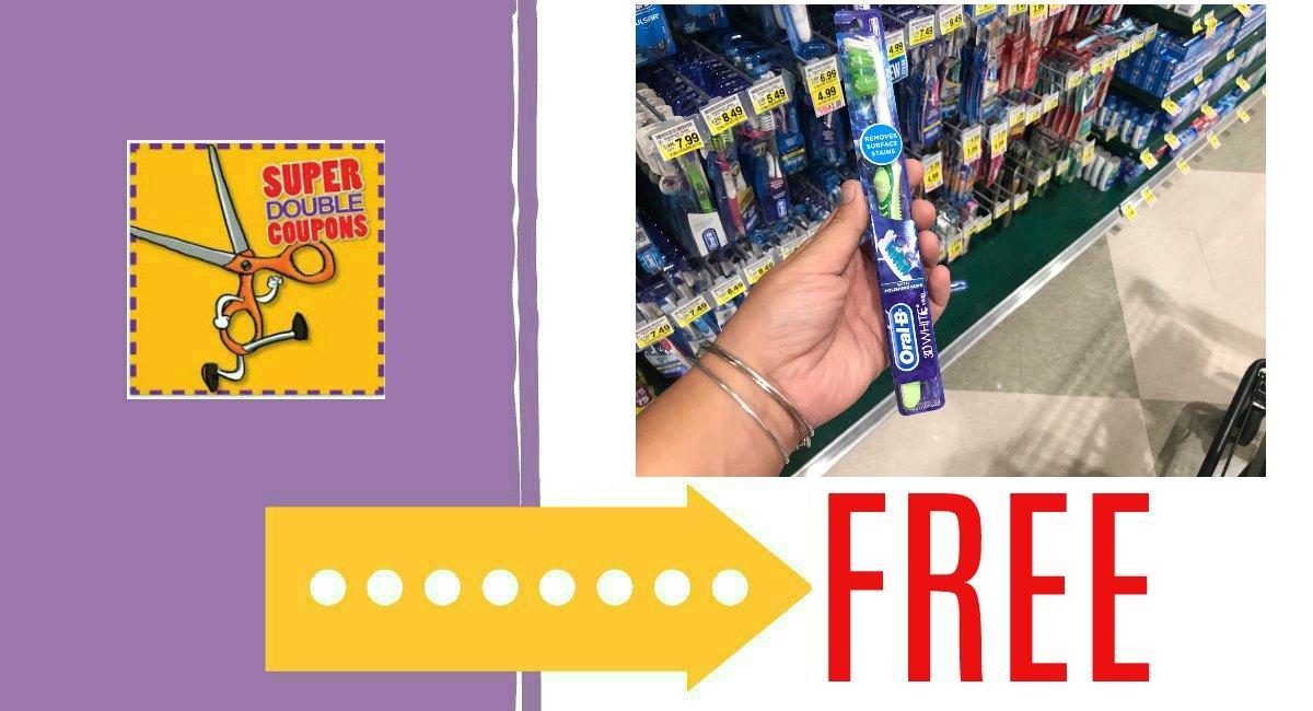 Free Oral B Toothbrush Coupon Rebate The Harris
