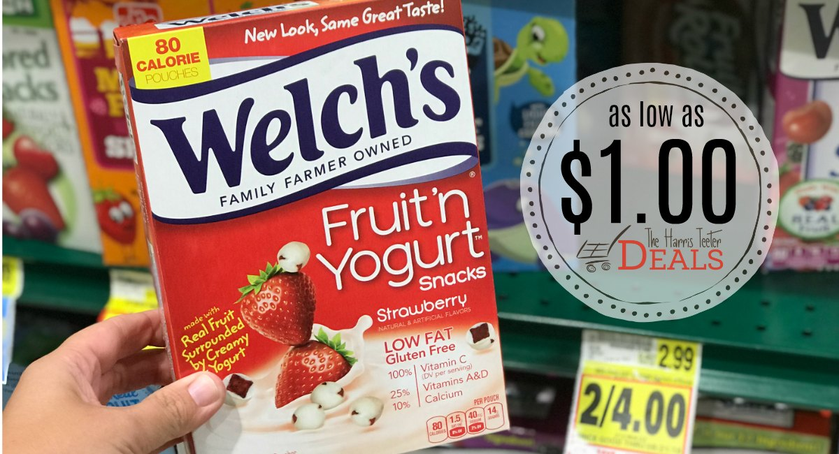 Welchs fruit snacks coupons