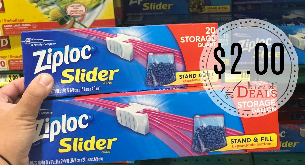 If You Are In Need Of Ziploc Bags We Have A This Week Pay Just 2 00 After Coupon Through 8 21
