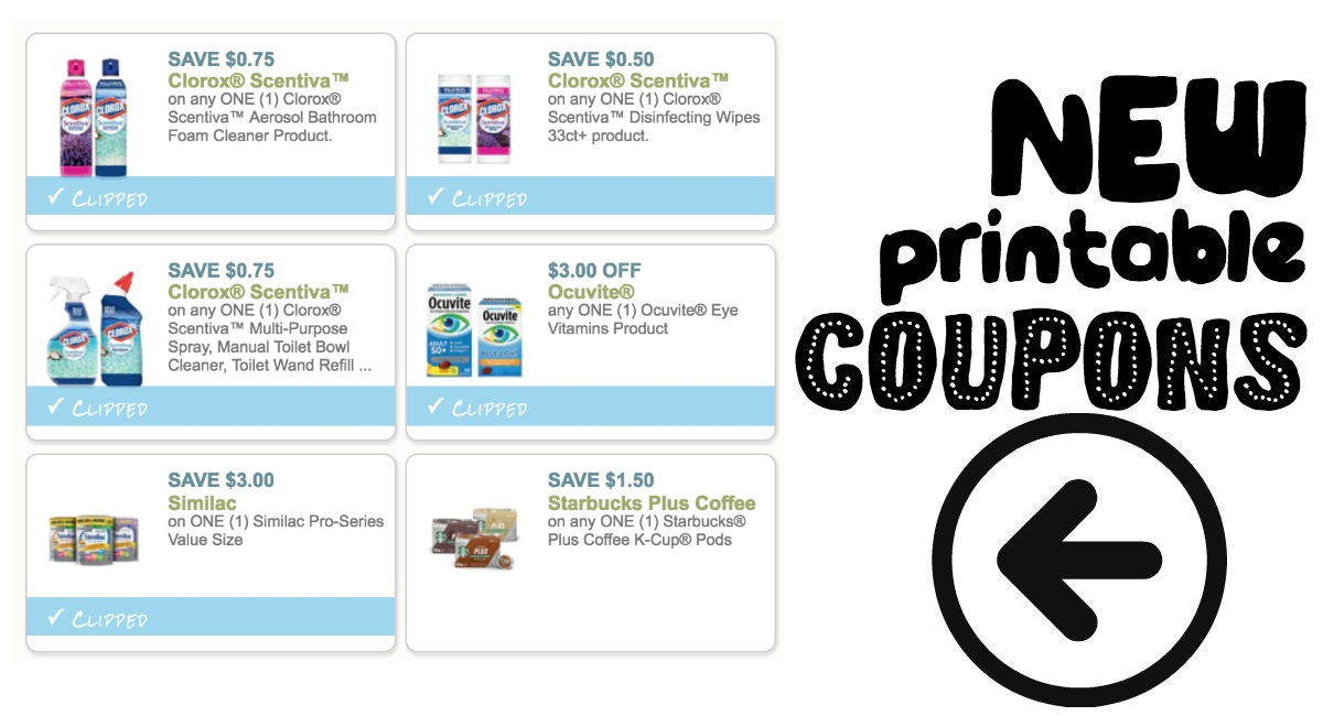 graphic regarding Clorox Printable Coupons named Fresh Printable Coupon codes Clorox and far more! - The Harris Teeter