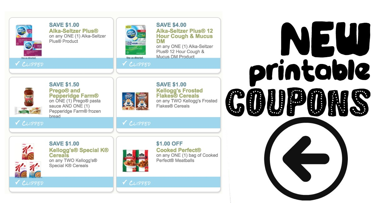 image about Prego Printable Coupons named Refreshing Printable Discount coupons Prego, Kelloggs and even more! - The