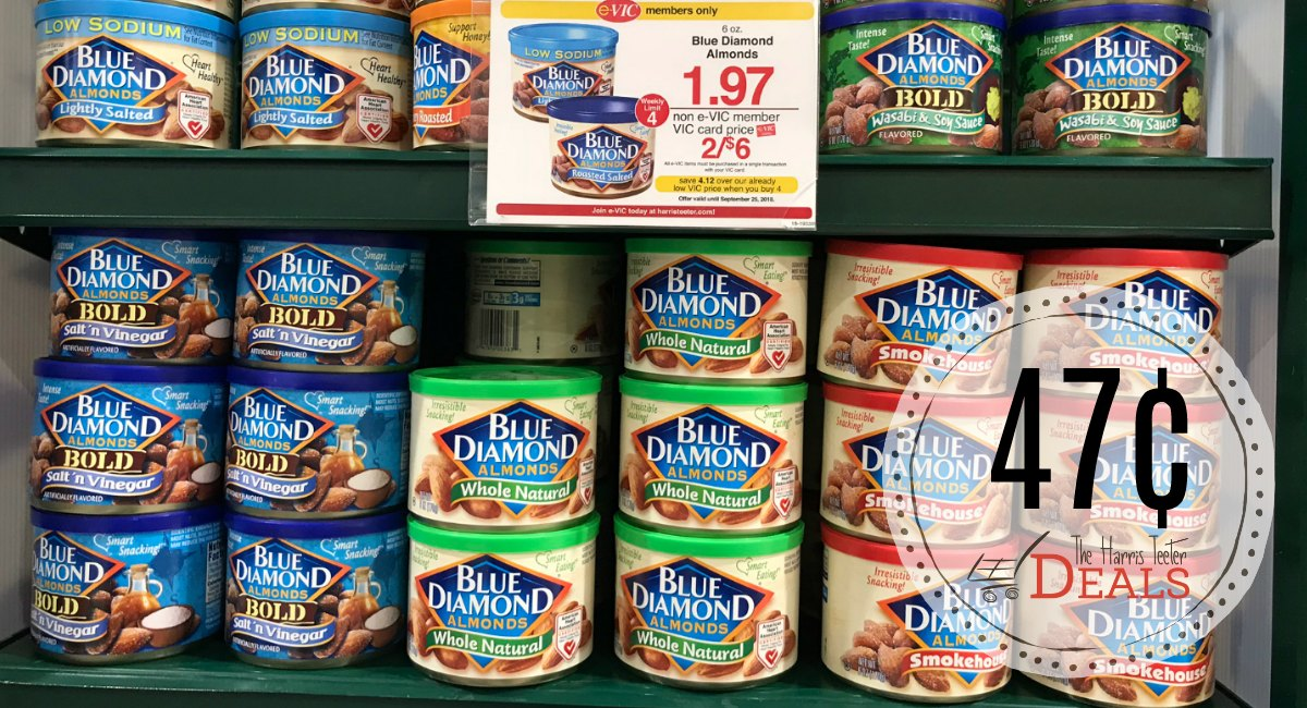 Almonds, almonds, almonds! Save on the best products made with your favorite nut with these manufacturer coupons for Blue Diamond products. Try everything from flavored almonds, Almond Breeze almond milk, Nut-Thins almond and wheat crackers and cooking and baking almonds.