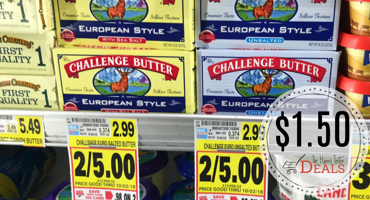 Challenge butter coupons 2018
