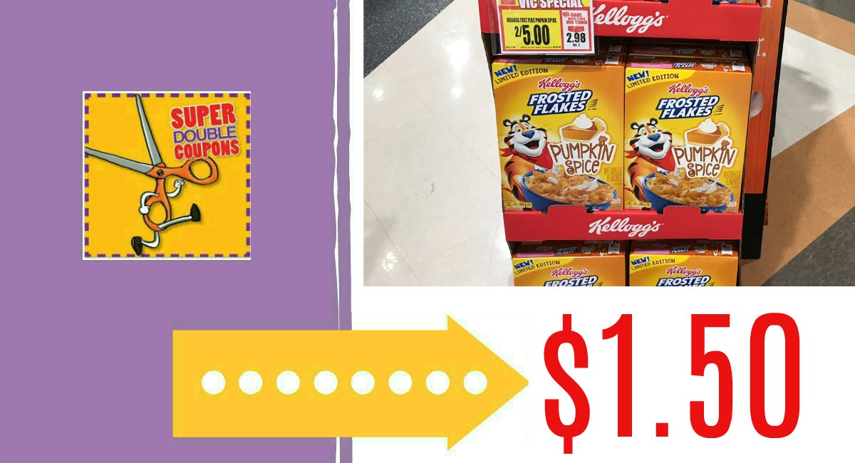 SUPER DOUBLES Printable List: Rumored Dates 9/30 – 10/2 {FREE Wipes, Ice Cream, and more!}