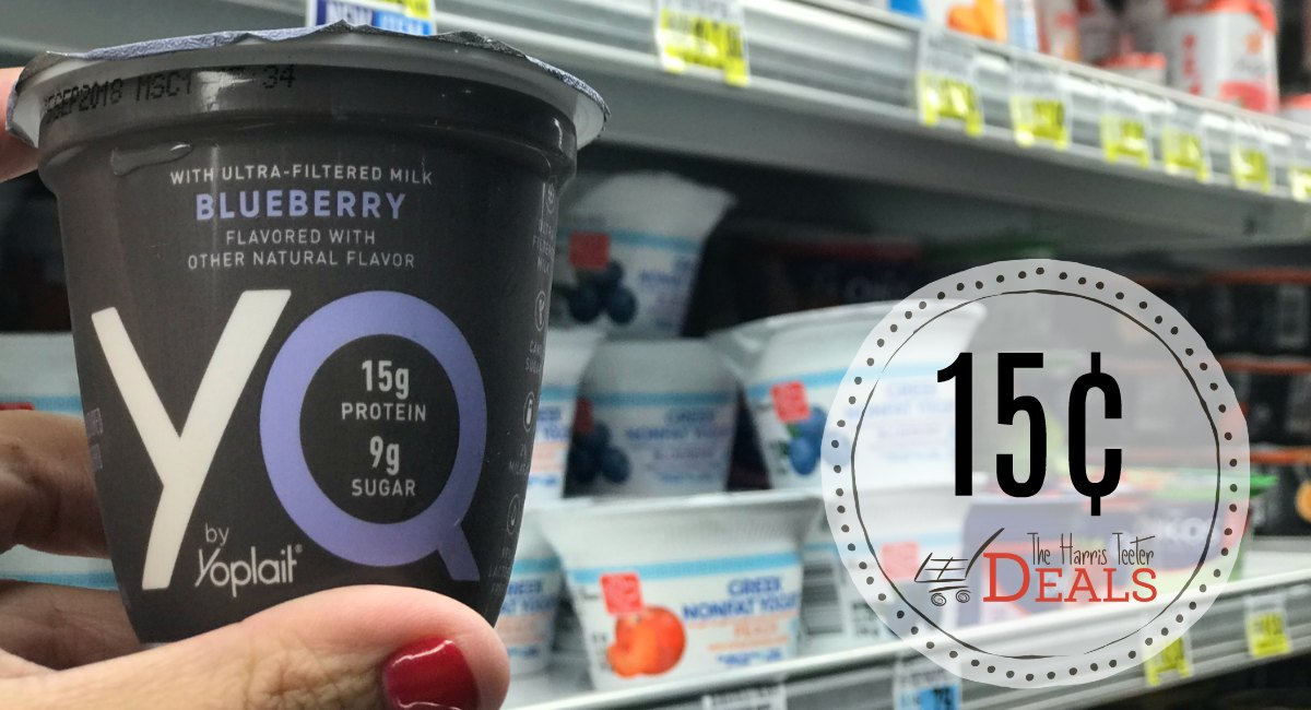 YQ Yogurt Cup Only 15¢ at Harris Teeter!