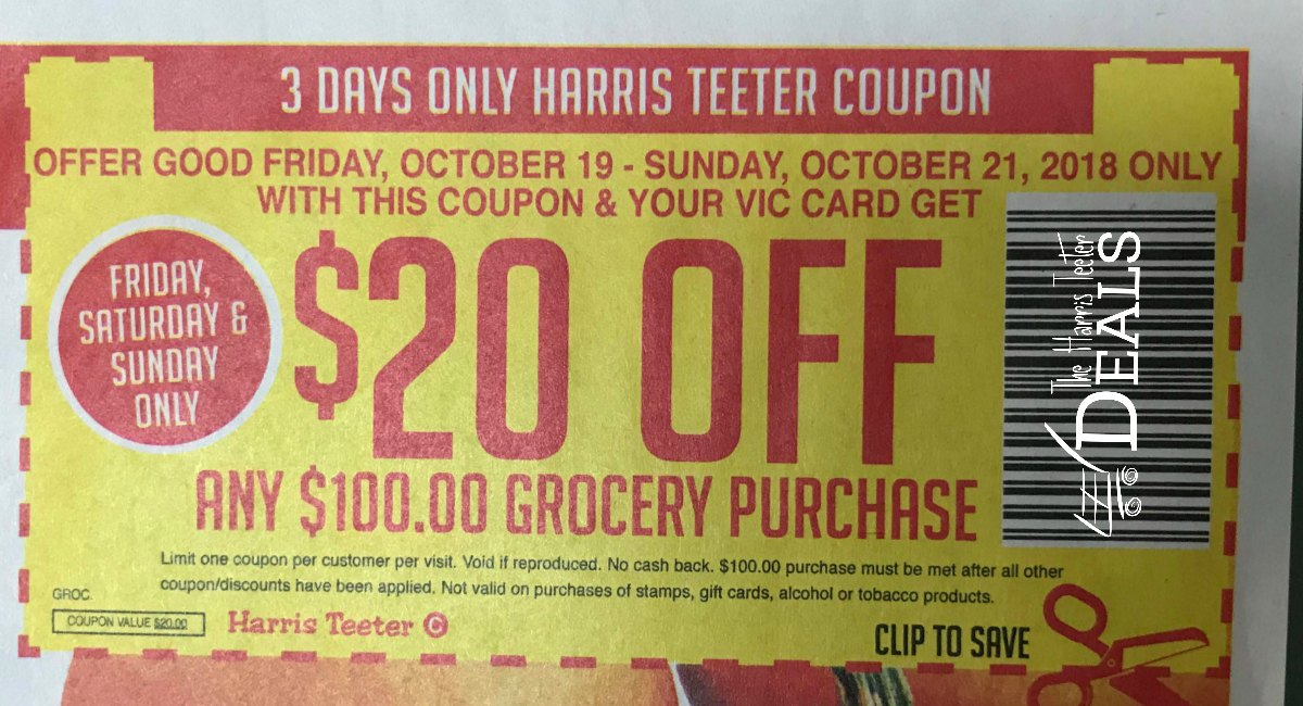 Harris Teeter Coupon Policy