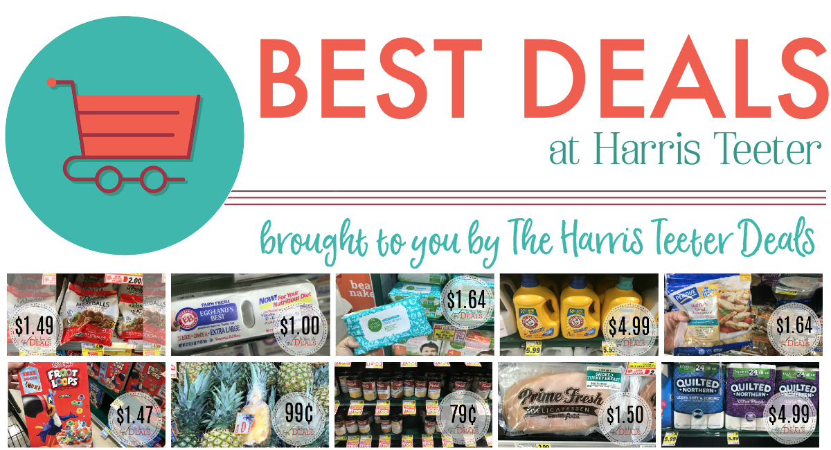 All the BEST Deals This Week at Harris Teeter!