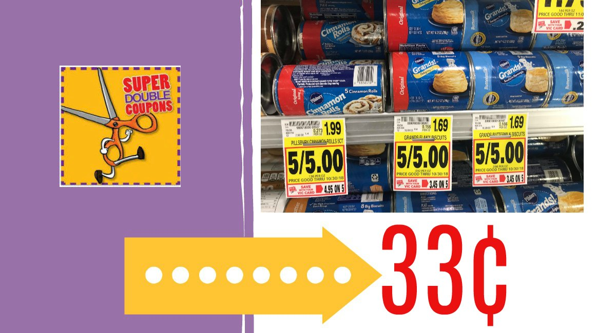 Buy Here Pay Here Ct >> Pillsbury Crescent, Biscuits, or Cinnamon Rolls only 33¢ - The Harris Teeter Deals