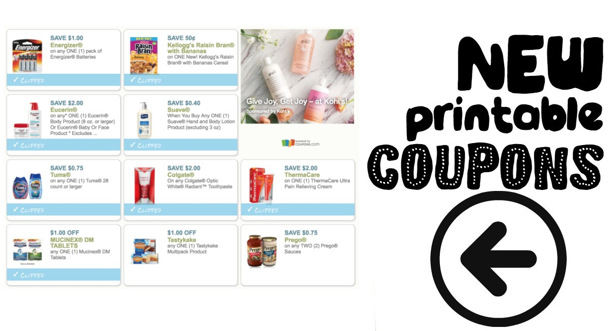 photograph regarding Tums Coupon Printable named Contemporary Printable Discount codes Colgate, Tums, and further more! - The