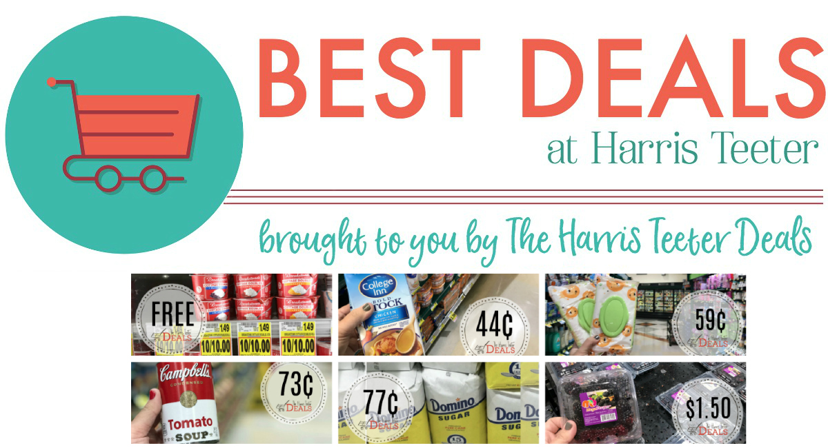 Best Deals at Harris Teeter THIS Week!