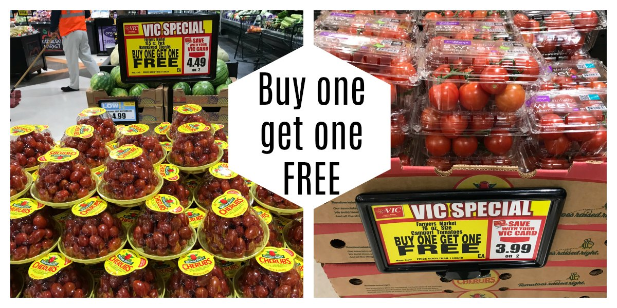 Tomatoes Buy One Get One Free At Harris Teeter The