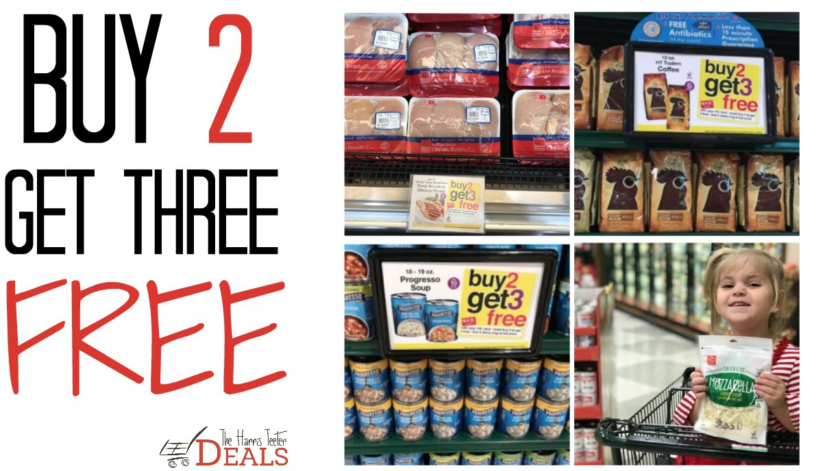 Harris Teeter Super Doubles 1 2 1 8 Matchups Ad Scan