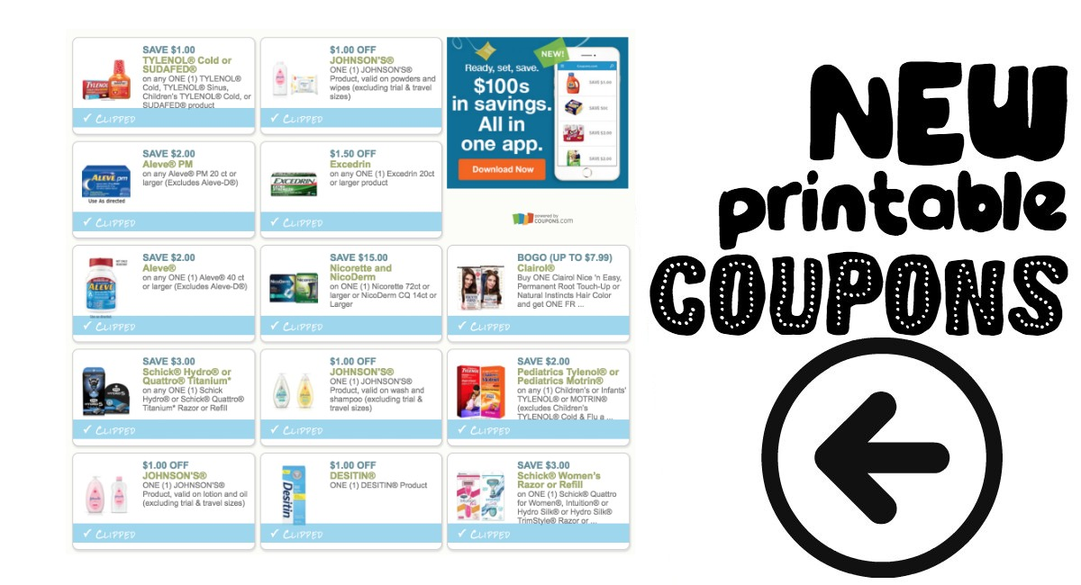 picture about Printable Nicoderm Coupons titled Fresh new Printable Discount coupons at Harris Teeter! - The Harris Teeter