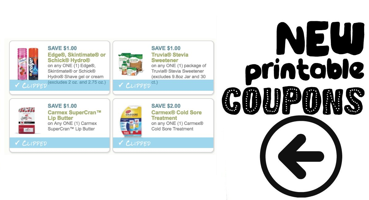 photo about Truvia Coupons Printable named Contemporary Coupon codes In the direction of Print! - The Harris Teeter Specials