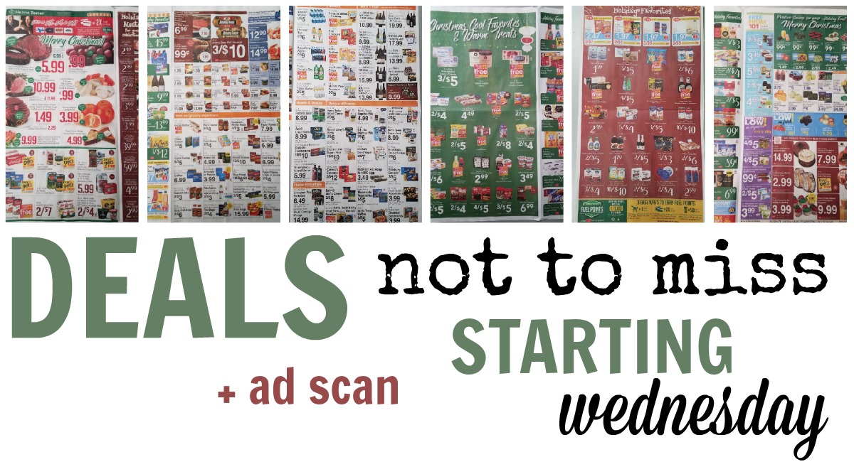 Deals NOT To Miss Starting Wedesday + Ad Scan for NEXT WEEK!