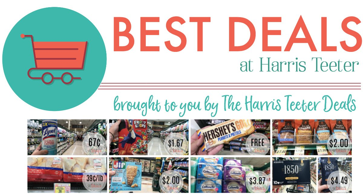 Best Deals at Harris Teeter This Week! {99¢ Soda 12 Packs, FREE Candy Bars and more!}