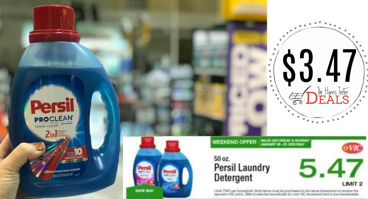 New Persil Coupon E Vic Special Today Only The Harris