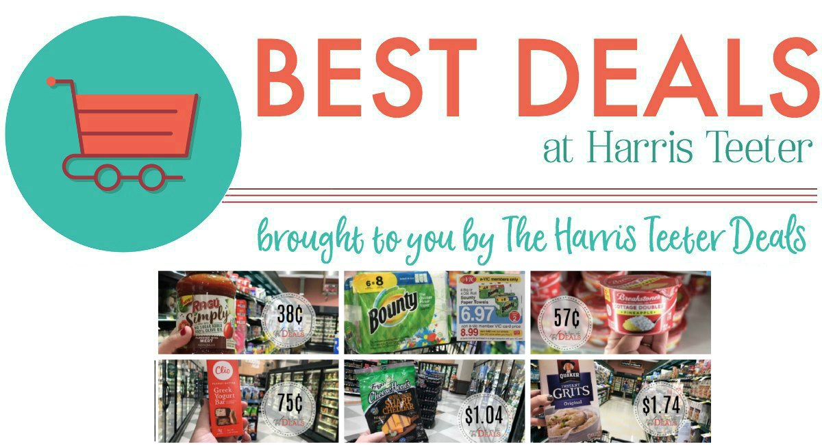 Best Deals THIS Week at Harris Teeter! {LAST DAY}