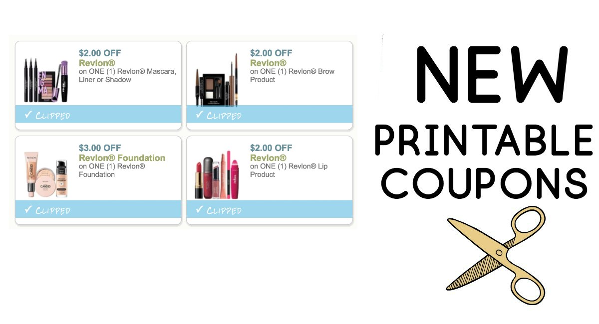 photograph about Printable Revlon Coupons identify 4 Contemporary Revlon Coupon codes toward Print! - The Harris Teeter Offers