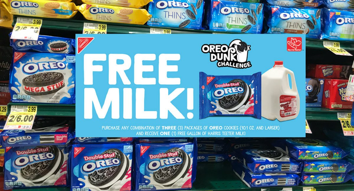 Free Milk With Oreo Purchase The Harris Teeter Deals