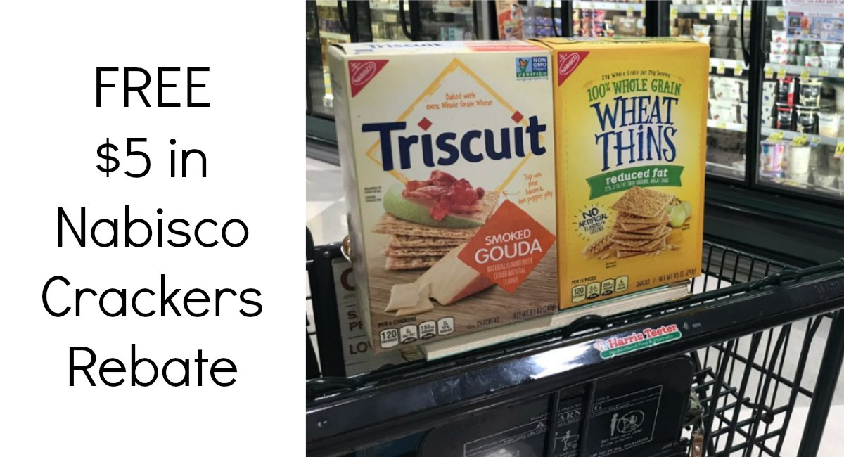 Nabisco Crackers $5 Rebate NC/SC Shoppers! - The Harris Teeter Deals