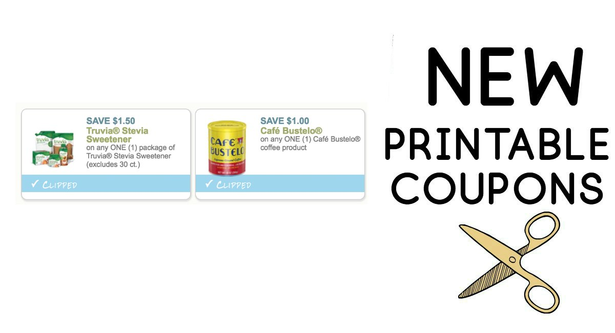 graphic relating to Truvia Coupons Printable known as Clean Printable Coupon codes - The Harris Teeter Promotions