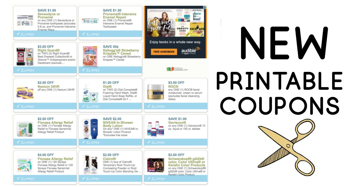 picture about Flonase Coupons Printable called Clean Printable Coupon codes! - The Harris Teeter Specials