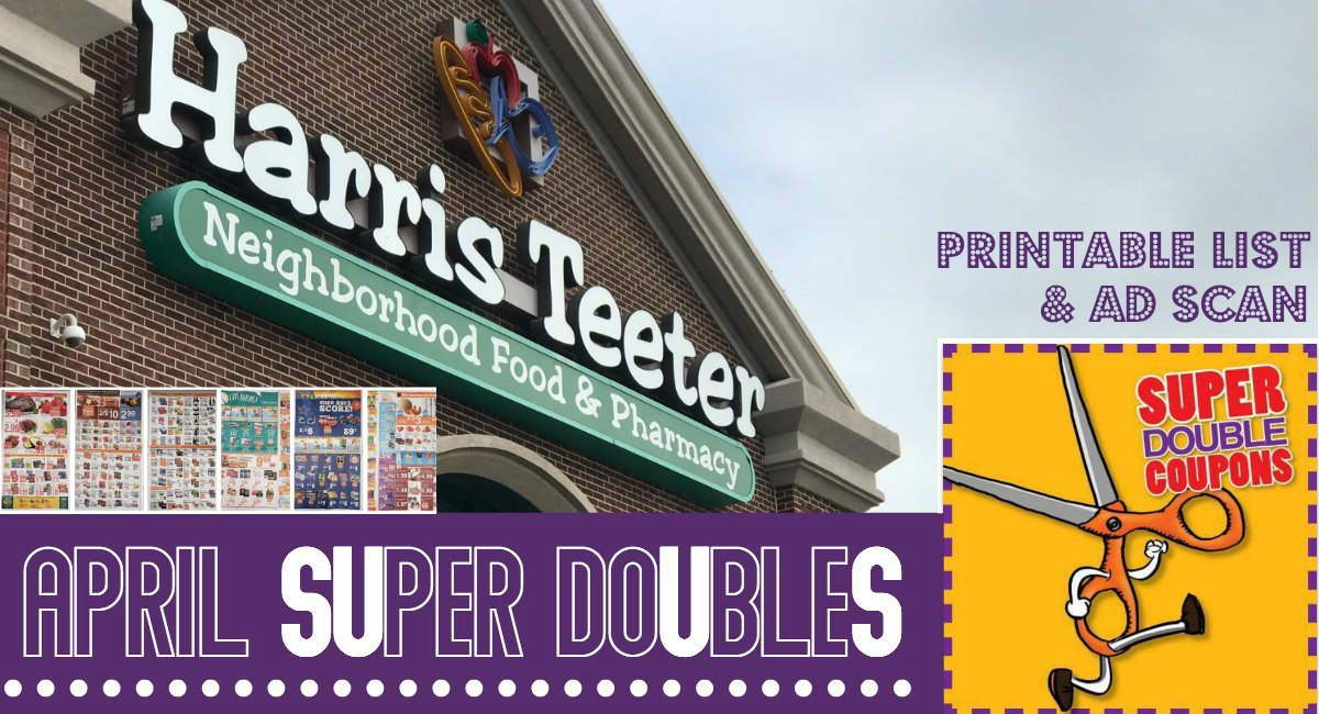 Harris Teeter Super Doubles 4/7 – 4/9 Rumored Printable List