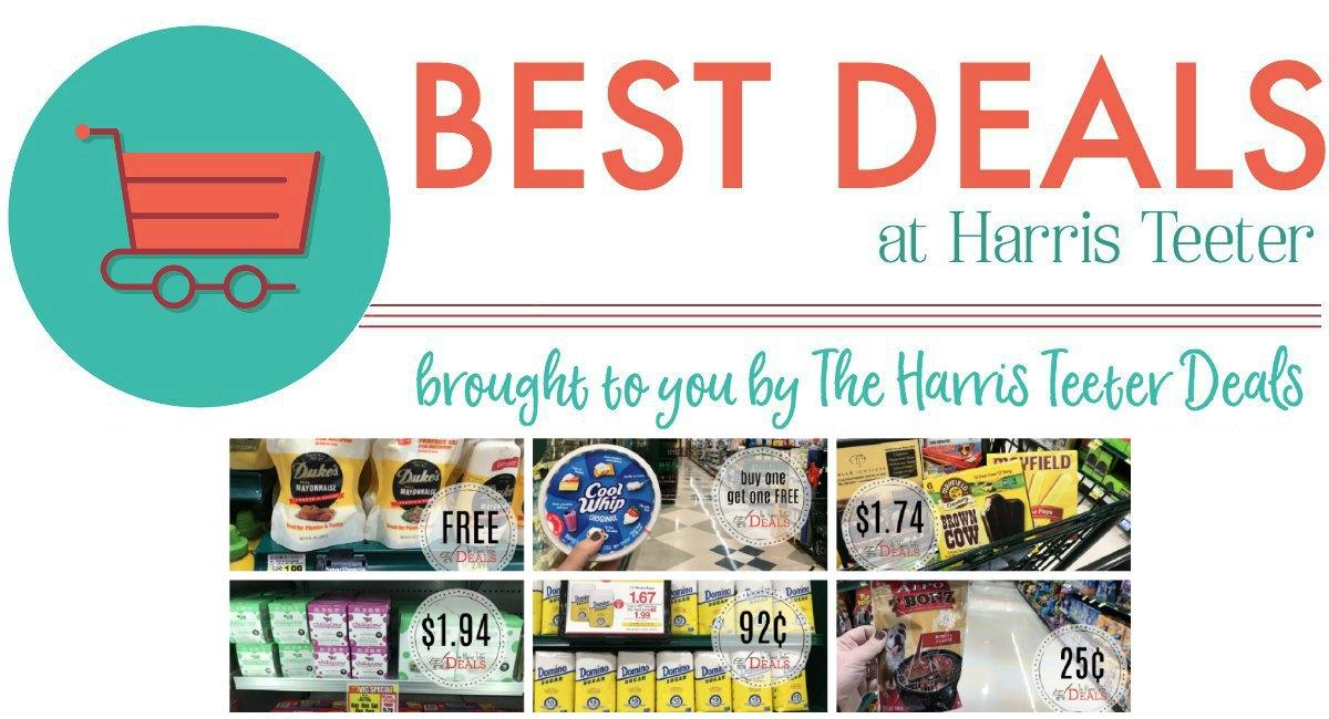 Best Deals THIS Week at Harris Teeter!