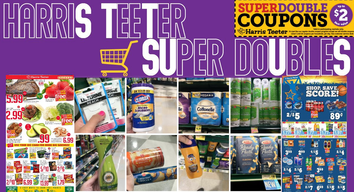 Super Doubles CONFIRMED 4/7 – 4/9 at Harris Teeter!