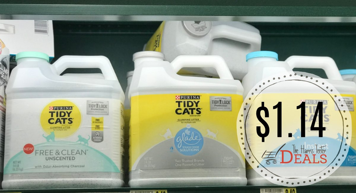 graphic relating to Tidy Cat Printable 3.00 Coupon named Tidy Cats Cat Clutter as lower as $1.14 at Harris Teeter! - The