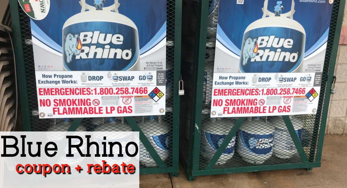 photograph regarding Printable Rebate known as Scarce Blue Rhino Printable Coupon + Rebate! - The Harris