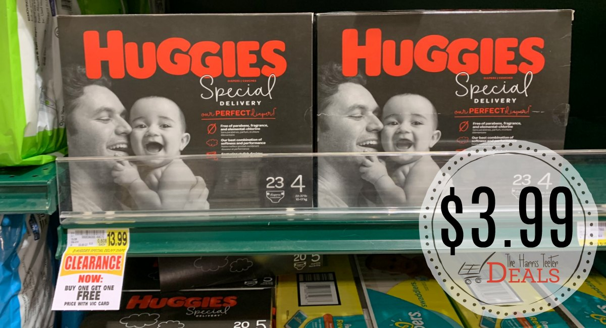 New Huggies Special Delivery Diapers Coupon Check Your Store For Clearance The Harris Teeter Deals
