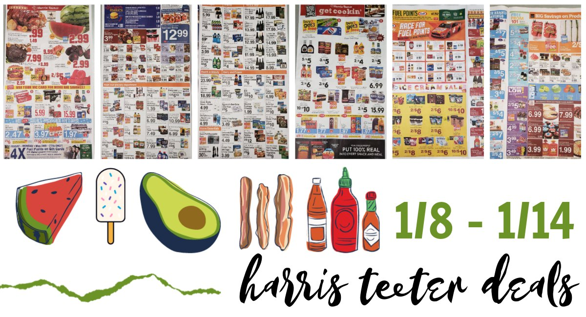 Harris Teeter Deals Weekly Matchups Ad Scan 1 8 1 14 The Harris Teeter Deals