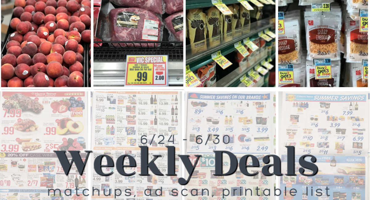 Harris Teeter Deals Weekly Matchups Ad Scan 6 24 6 30 The Harris Teeter Deals